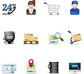 Web Icons - Logistic