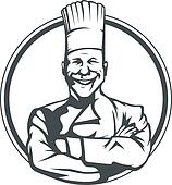 smiling cook in ring