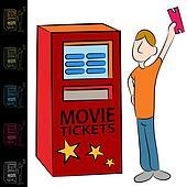 Movie Ticket Kiosk Machine