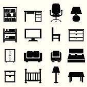 House and office furniture