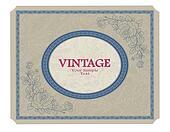 Vintage label