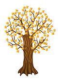 autumn tree,