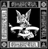 Angel And Crowned Skull Black Quad