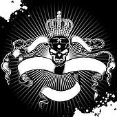 Crown Skull Sign