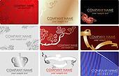 Nine Fashion Business Cards.
