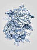 hand drawn flower 7067