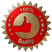 100 % Quality (red)
