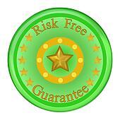 Risk Free Green Guarantee Seal