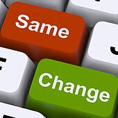 Change Same Keys Show Decision And Improvement