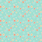 Seamless Multi Color Polka Dots