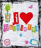 I love bubble tea