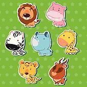 cute animal stickers 09