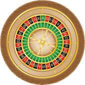 roulette casino illustration