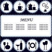 The menu restaurant