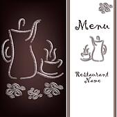 The sample of the menu