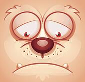 Sad Animal Face