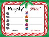 Santa's Naughty or Nice Xmas List