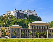 University and Hohensalzburg Fortress, Salzburg