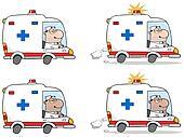 Doctor Driving Ambulance