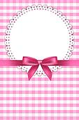 baby pink background with napkin