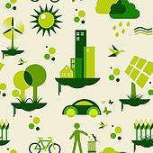 Green city pattern