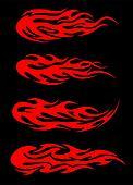 Burning tribal flames