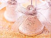 Christmas decorations photo set - jingle bells