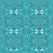 vector fish pattern