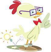 nerd chicken