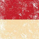 Indonesia retro flag