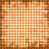 grunge illustration of picnic tablecloth