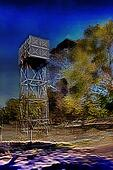 3D Water Tower Painting