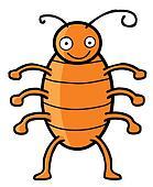 Happy cockroach