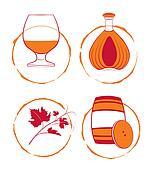 The cognac set