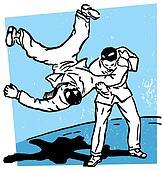 A rough move in karate