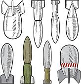 Bomb assortment sketch