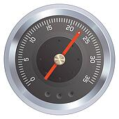 Gauge or meter illustration