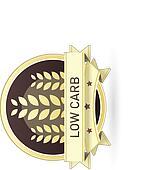 Low carb food label