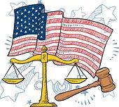 American justice vector