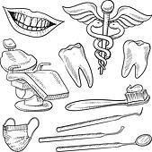 Dentistry equipment sketch