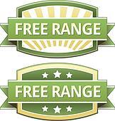 Free range food label