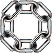 Seamless chain link border