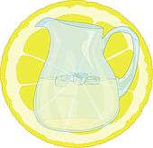 Lemonade With Lemon Slice