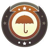 Umbrella imperial crest
