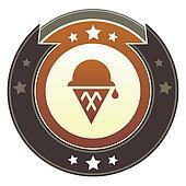 Ice cream cone imperial crest