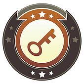 Skeleton key imperial crest