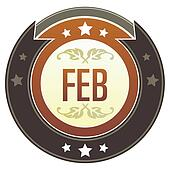 February imperial crest