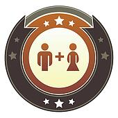 Relationship imperial button