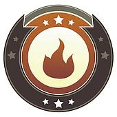 Fire imperial button