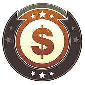 Dollar sign imperial button